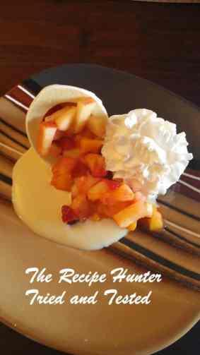 TRH Easter dessert - fruit nests