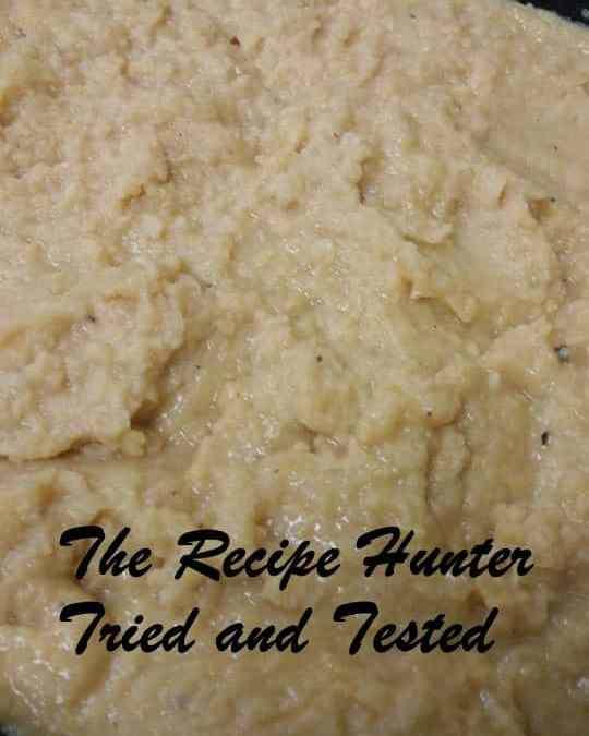 Hummus (without tahini)