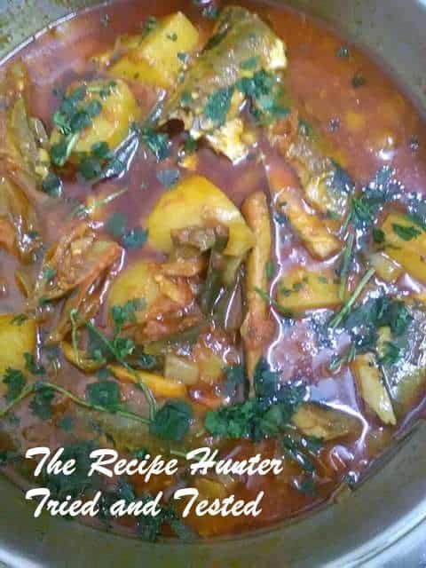 Tinfish curry