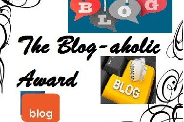 The Blog-aholic Award