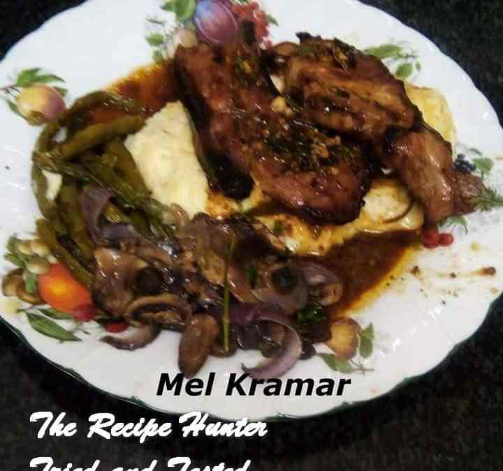 Melanie's Honey and Mustard Pork Chops