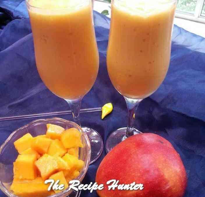 Rashida's Refreshing Mango Lassi
