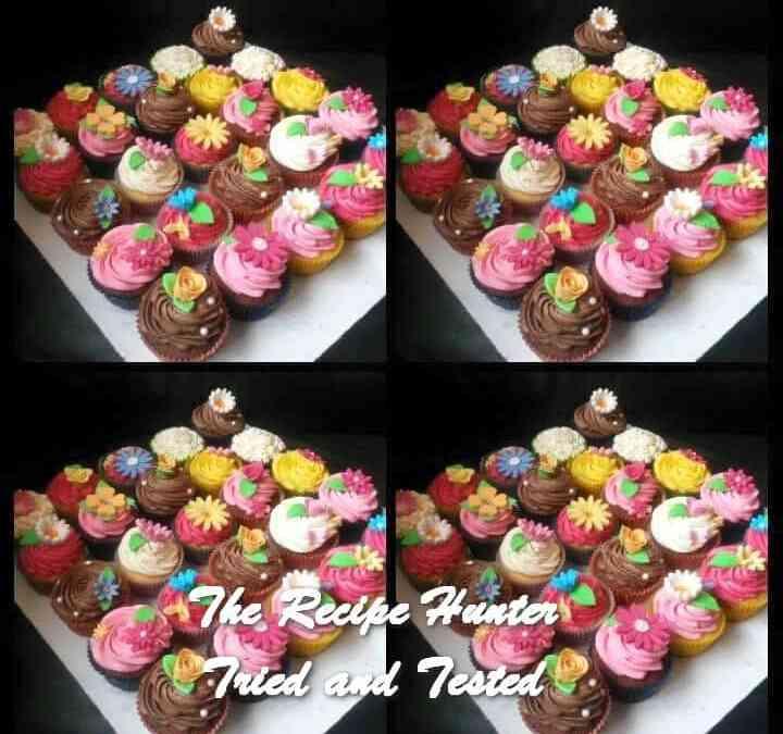 Reshika's  Vanilla Cupcakes