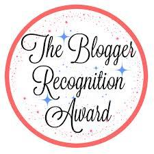 Blogger Recognition Award 4