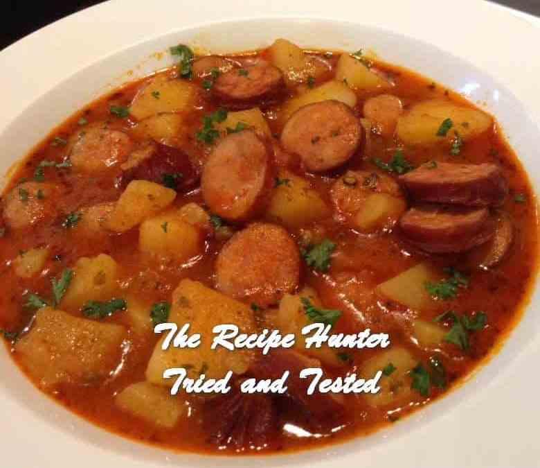 Gail's Potato Sausage Goulash