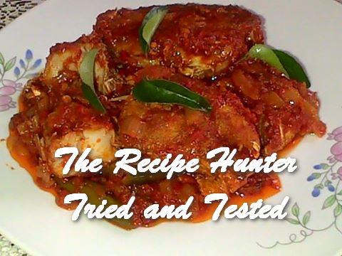 Thilleshni's Fried Fish Chutney