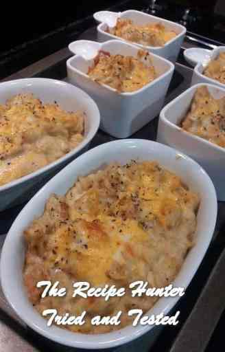 TRH Feriel's Baked Chicken and Two Cheese Pasta