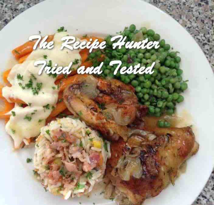 Gail's Tarragon Chicken in Slow Cooker