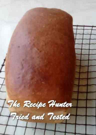 TRH Ilze's Hannah's bread