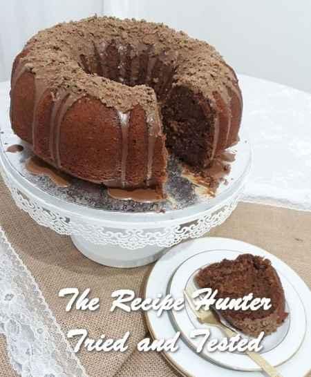 TRH Jameela's Chocolate cake