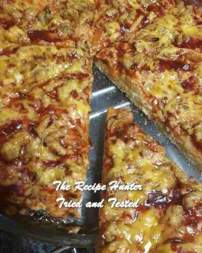TRH Jameela's Sweet Chilli Pizza