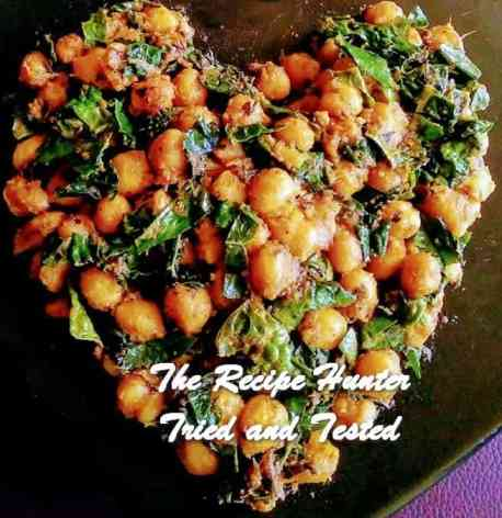 TRH Moumita's Spicy & Healthy Chickpeas Kale curry