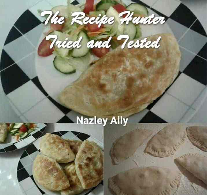 Nazley's Half Moon Shaped Roti Paratha's
