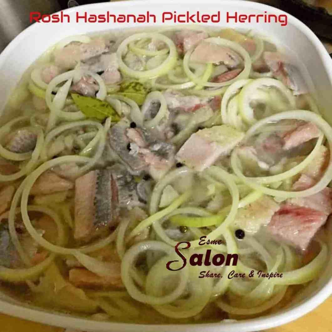 Rosh Hashanah Picked Herring