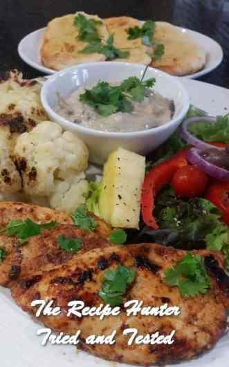 TRH Feriel's BBQ Grilled Chicken Fillet and Cauliflower