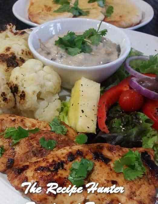 Feriel's BBQ Grilled Chicken Fillet and Cauliflower