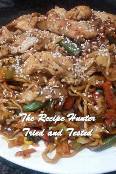 TRH Feriel's Chow Mein With Chicken