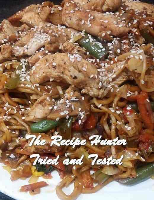 Feriel's Chow Mein With Chicken