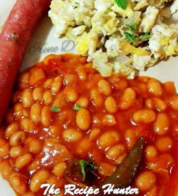 Irene's Baked Beans Curry