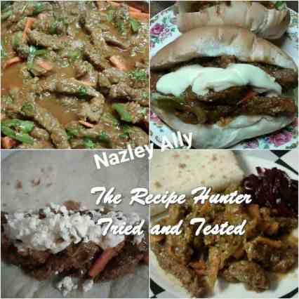TRH Nazley's Saucy Masala Steak