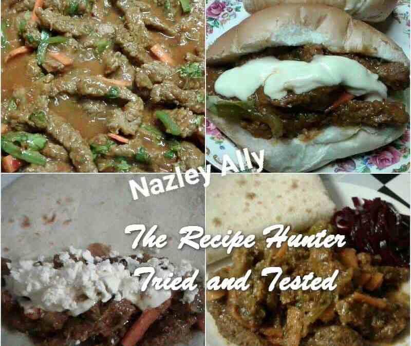Nazley's Saucy Masala Steak