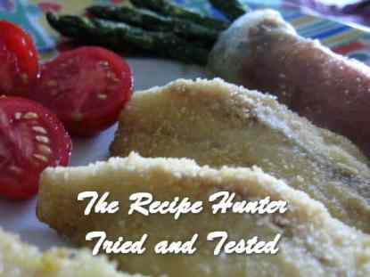 TRH Saverio's Tub Gurnard(Redfish) fillets with Asparagus