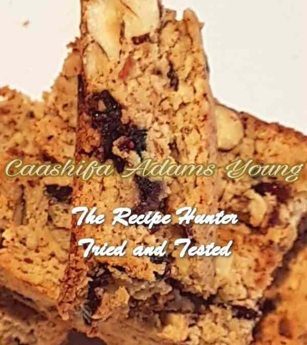 Caashifa's LC Cranberry and Hazelnut Biscotti