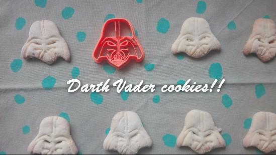 TRH Darth Vader cookies