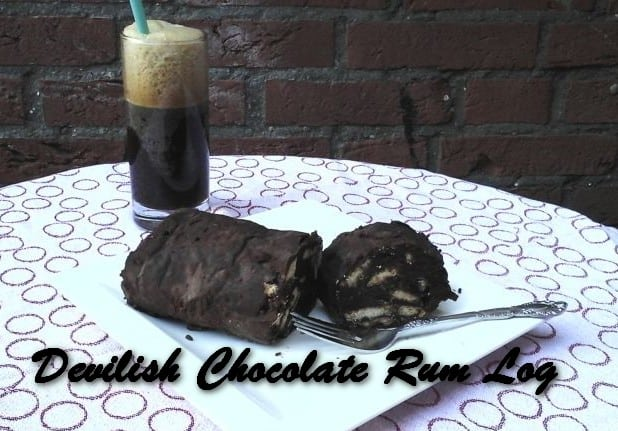 TRH Devilish Chocolate Rum Log