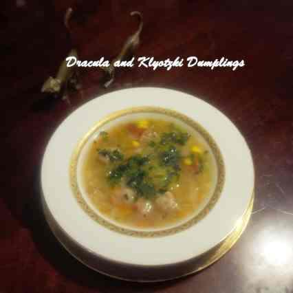 TRH Dracula and Klyotzki Dumplings