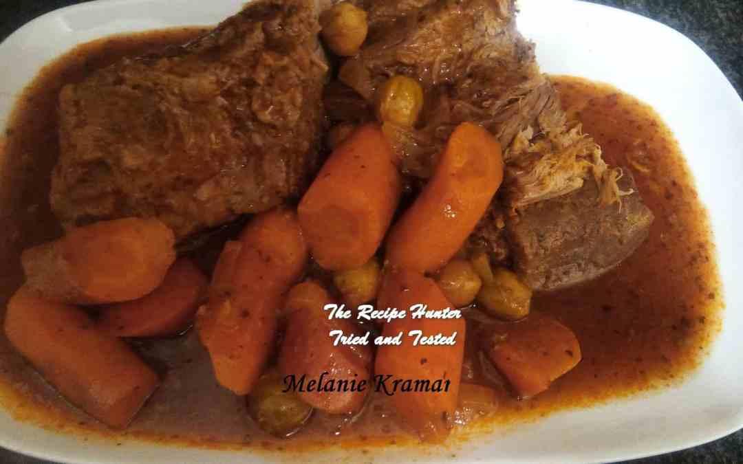 Melanie's Slow Cooker Italian Beef