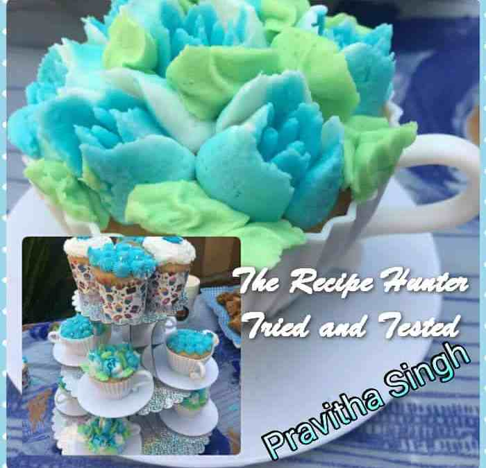 Pravitha's Vanilla Cakes in a Cup