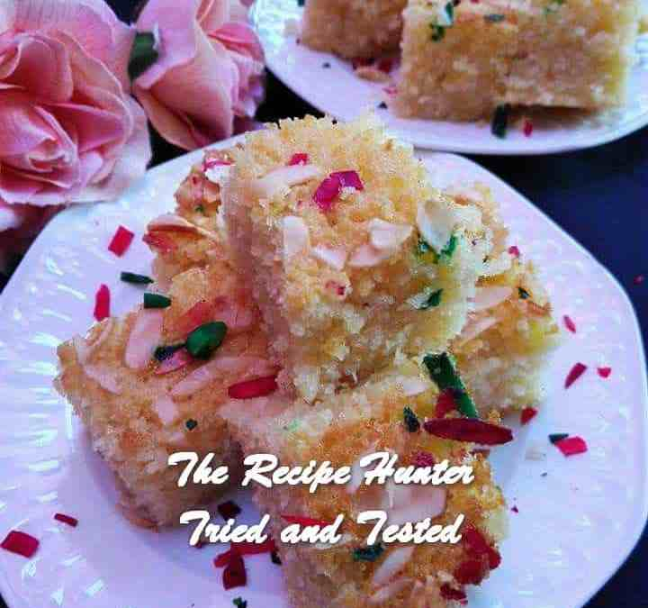 Rashida's Semolina Cake