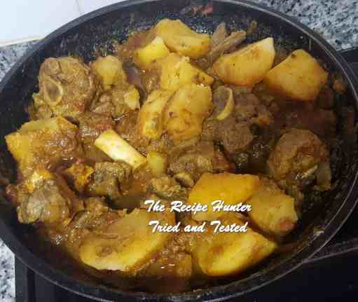 TRH Vashnee's Lamb and Potato Curry