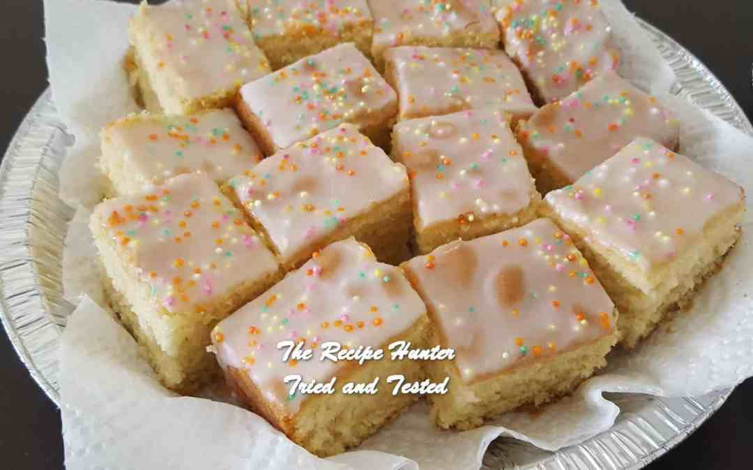 Vashnee's Vanilla Sponge Cake