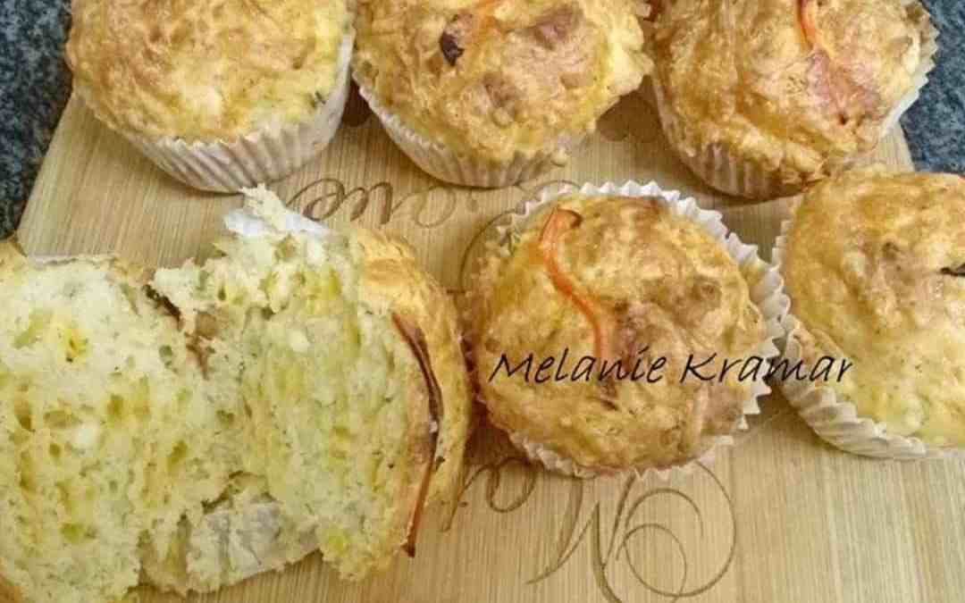 4 Cheese and Spring Onion Muffins