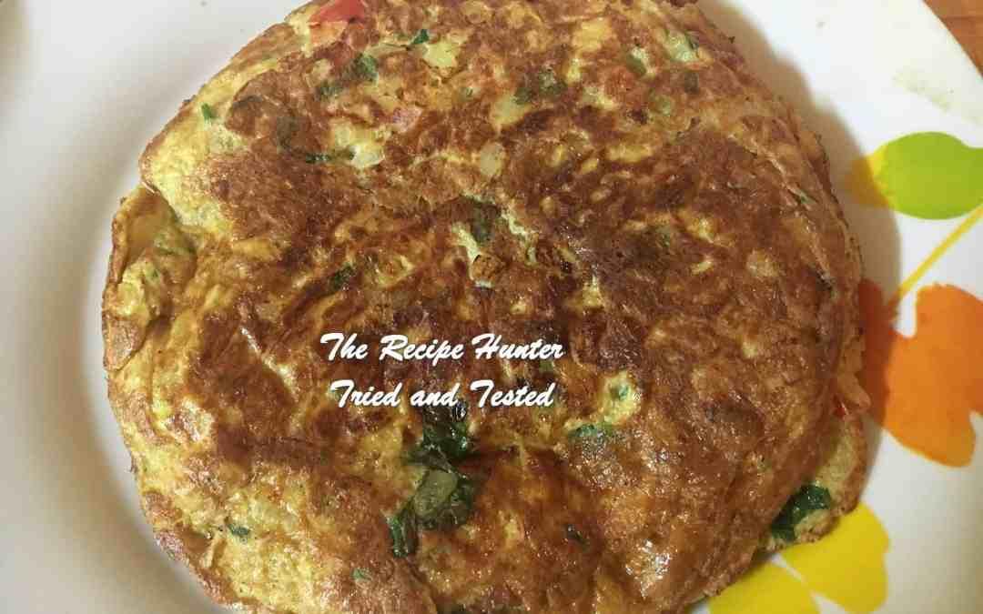 Bobby's Masala Omelette