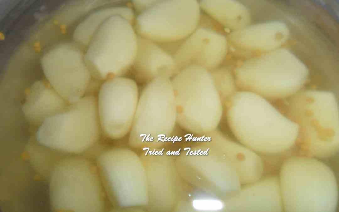 Carol's Pickled Garlic