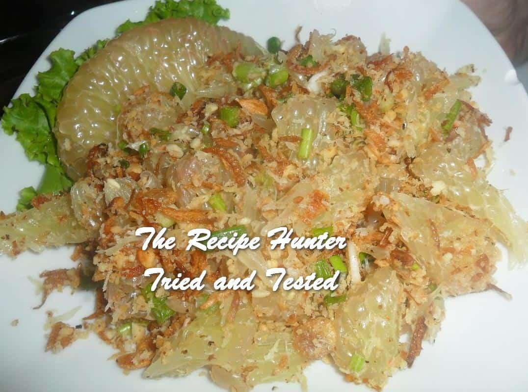 TRH Carol's Pomelo Salad