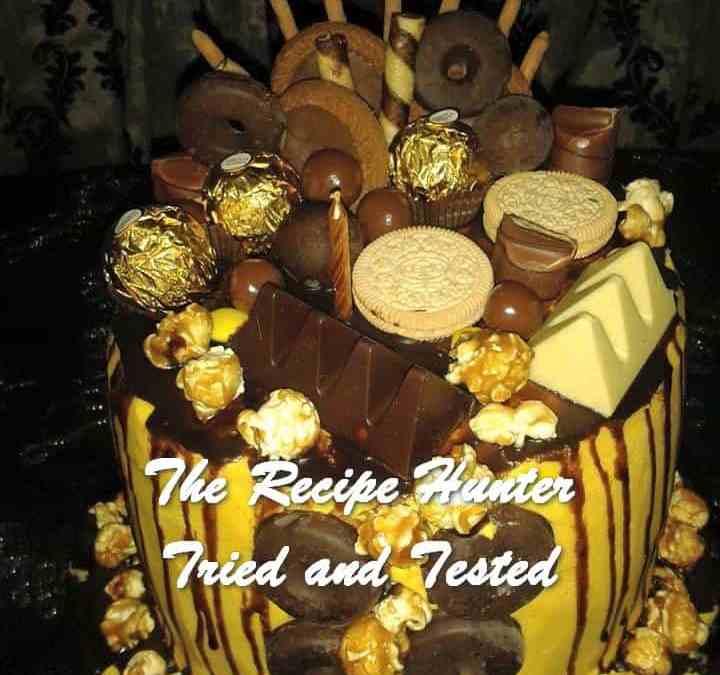 Melenie's Lemon Chocolate Birthday