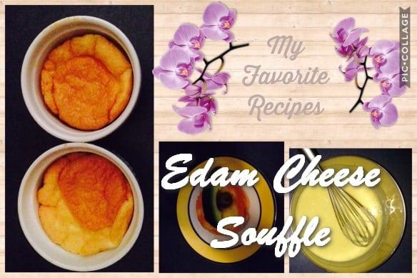 TRH Edam Cheese Souffle