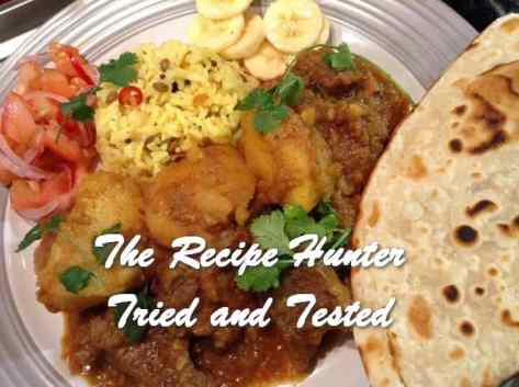 TRH Gail's Beef Curry and Roti