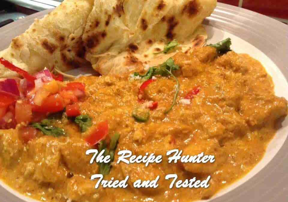Gail's Butter Chicken and Roti