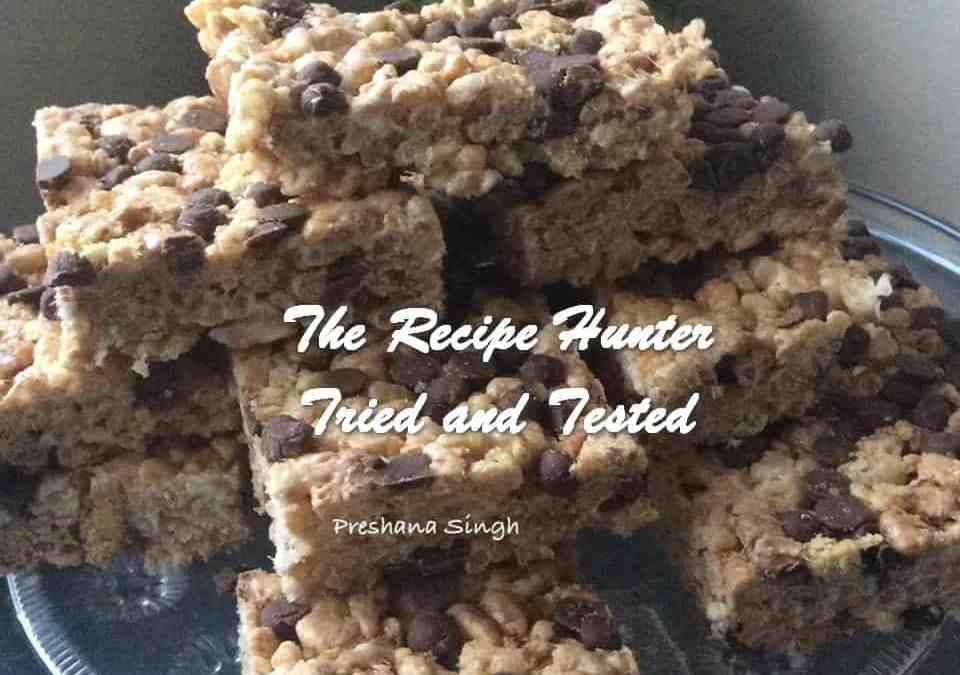 Preshana'a S'mores Rice Krispy Treats