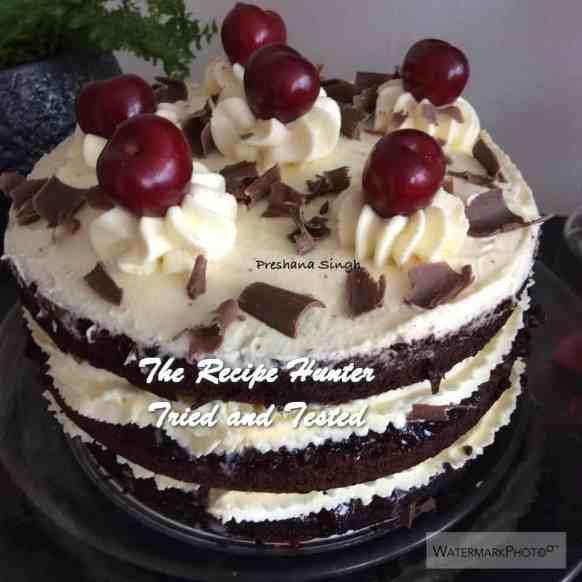 TRH Preshana's Black Forest Cake
