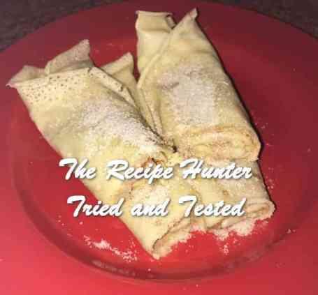 Christl's South African pancakes aka Crepes