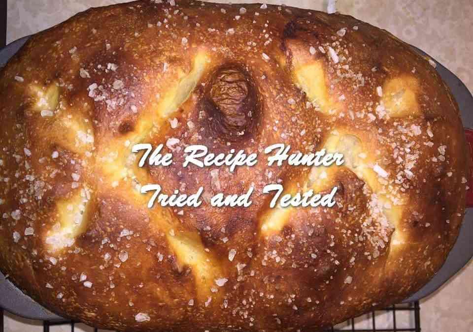 Luci's Pretzel Bread