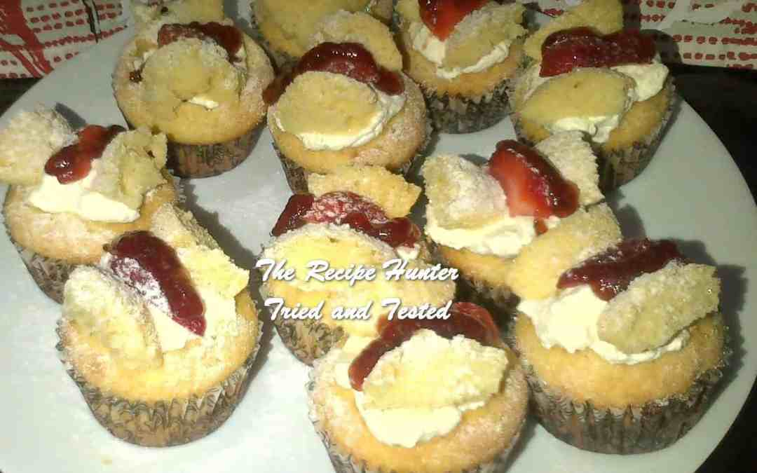 Melenie's Strawberry Butterfly Cupcakes