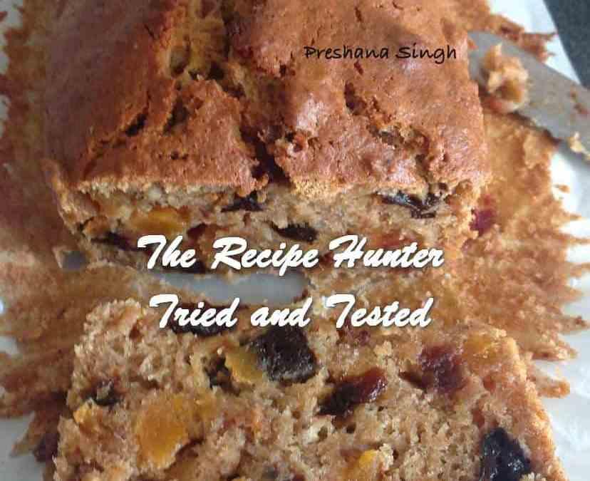 Preshana's Fatfree, High Fibre Weetabix Cake