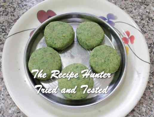 Sneha's Cheese Overloaded Spinach Chickpeas Cutlets7
